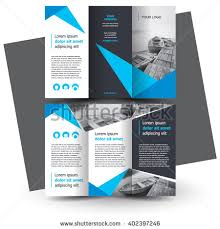 brochure template brochure design brochure template creative trifold stock vector