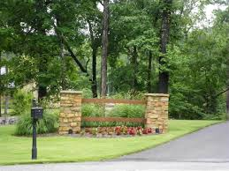 Best Driveway Entrance Ideas Images On Pinterest Barbecue Pretty Entrances  Pictures Of Landscaping: Full ...