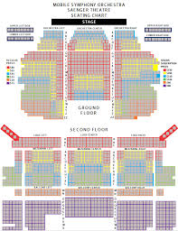 Seating Chart Mobile Symphony Orchestra