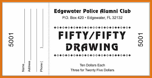 Draw Ticket Template Sample Raffle Ticket Templates Draw Ticket Template Sample Raffle