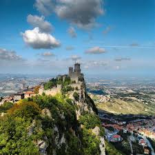 San Marino - Get your passport stamped at the city center! Third smallest  state in Europe after the Vatican and Monaco