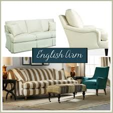 Sofa Arm Styles English Style Different Rolled Camel Back