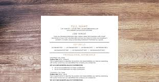 our resume template our premium resume template to pass applicant tracking software and stand out to employers