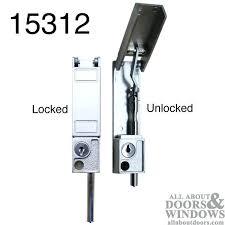 how to install a sliding patio door bolt lock sliding patio door locks sliding patio door