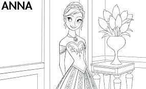 Frozen Coloring Book Pages Free Printable Frozen Coloring Pages