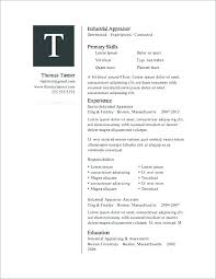 Microsoft Word Resume Template Download Unique Resume Layout Templates Download 40 Free Resume Templates For
