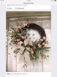 Wreaths By Design Walker La Pretty Wreath Door Wreaths Summer Door Wreaths Easter