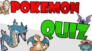 Pokemon quiz gen 1 deutsch - YouTube