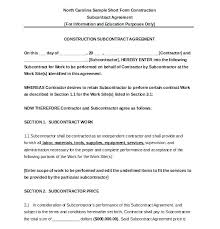 Simple Contractor Agreement Template Work For Hire Agreement Template Free Lease Plant Printable