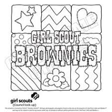 Small Picture GirlScoutBrownieColoringPages Girl Scout Cookies Coloring
