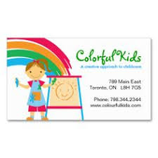 245 Best Childcare Business Cards Images Child Care Childcare