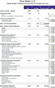 Business Start Up Costs Template Starting A Business Excel Spreadsheet Startup Costs Template Small