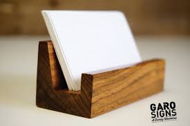 Business Card Display Stands Business Card Holder Business Card Stand Rustic Office 2