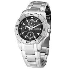 armitron mens multi function steel watch w round black dial and armitron mens multi function steel watch w round black dial and silvertone link band jewelry watches men s watches