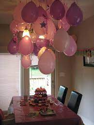 birthday room decoration ideas for best
