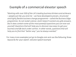 Elevator Pitch Examples For Students Elevator Speech Examples For Healthcare Students Speeches Samples