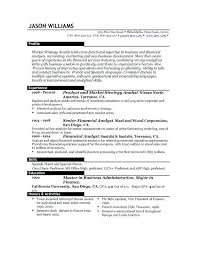 Resume Examples Templates Easy Format Resume Best Examples Best Good