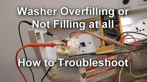how to test the pressure switch on your washer not filling or how to test the pressure switch on your washer not filling or overfilling water