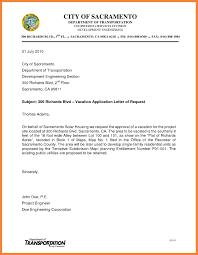 Request Letter For Vacation Best Sample Letter Format Sample Letter