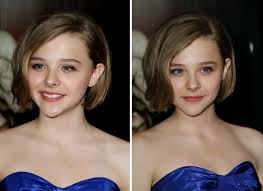 Teen Girls Hair Style chlo moretz around the neckline bob hairstyle for teenage girls 7006 by wearticles.com