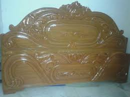 solid wooden king size design box bed