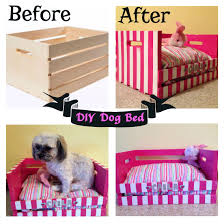 Created a Dog bed for my Shih Tzu/Poodle. Made from a wooden crate