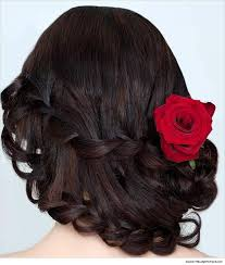 hairstyles for sarees styles waterfall braid1