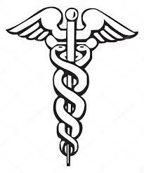 кадуцей гермеса кадуцей греческий знак или символ векторное