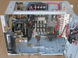 westinghouse motor control center wiring diagram westinghouse ge 469x0805l01 c3 8000 line 460v type fvnr size 1 bucket used on westinghouse motor control