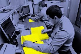Полиция тонет в бумагах Такие Дела