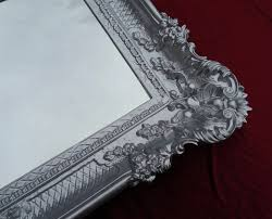 Details About Wall Mirror Silver 96x57 Antique Baroque Rococo Mirror Shabby Chic Retro Design