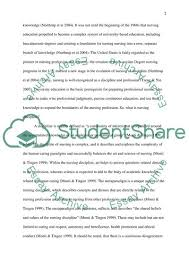 Nursing As Discipline Essay Example Topics And Well