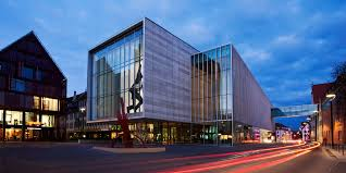 modern architecture city. Contemporary Architecture Sights UlmNeuUlm  Modern Architecture  On City T