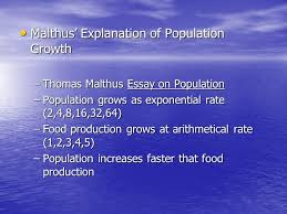 world population problems nature of the world population problem  5 malthus explanation
