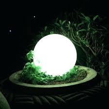 garden globe lights led growing ball light garden decoration globe lighting for event party decoration free