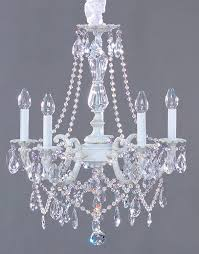 lighting chandeliers shabby chic style crystal chandelier cottage haven interiors