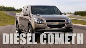 New Chevy Colorado, GMC Canyon To Get 4-Cylinder Diesel | Gas 2