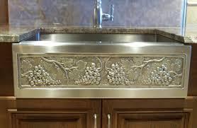 elite bath kitchen sinks farmhouse stainless steel chameleon ss30dbn 30 double bullnose sink 30
