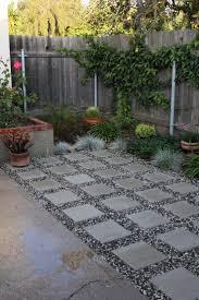 NYC Backyard Patio Bluestone Pavers Shade Garden River Stones Backyard Patio Stones