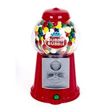 Vending Machine Bank Amazing Classic Vintage Red Bubble Gum Machine Bank 48 Gumballs Included