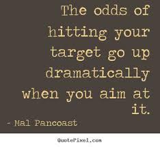 Targets Quotes. QuotesGram via Relatably.com