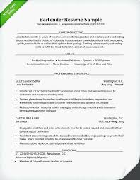 Waiter Resume Sample Sample Waitress Resume Examples Job Objective