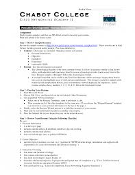 Resumeevelopment Bonus Assignment College Template Microsoft Word