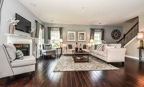 >open concept home decorating ideas google search decorating  the westley has a wide open floor plan with hardwoods windows and a gas fireplace in the family room it s pictured here with a gray color scheme