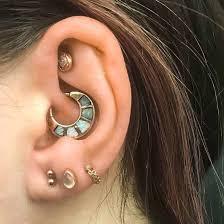 Chart Of Ear Piercings Piercing Chart Ear