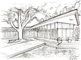 Fine Architecture Drawing Houses A House H To Design Ideas