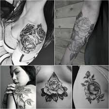 тату роза эскизы и значения татуировки роза Tattoo Ideasru