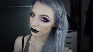 spring pastel goth makeup tutorial
