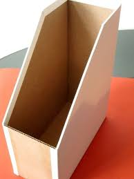 Cardboard Magazine File Holders