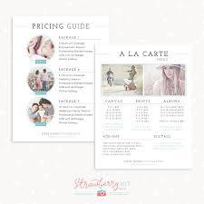 A La Carte Menu Template Classical Pricing Guide And A La Carte Menu Template